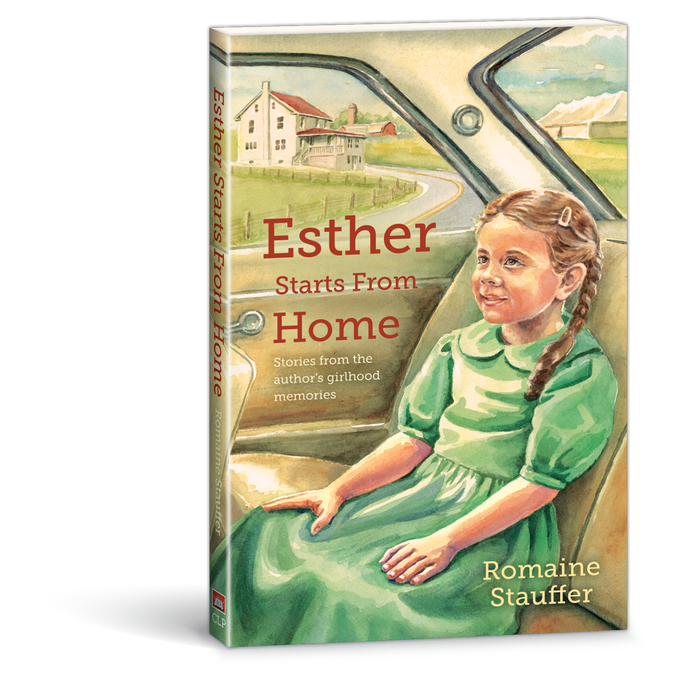 Esther Starts from Home book by Romaine Stauffer 9780878137749