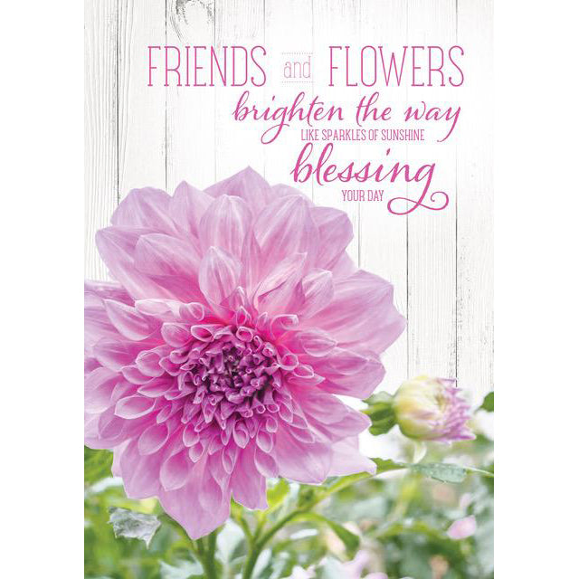 Friends & Flowers Writing Tablet 97898