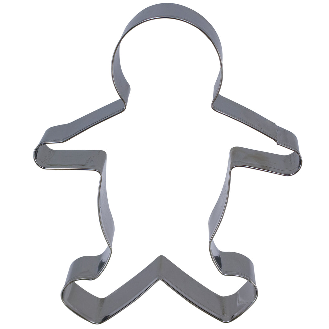 Gingerbread Man Cookie Cutter 5 inch.