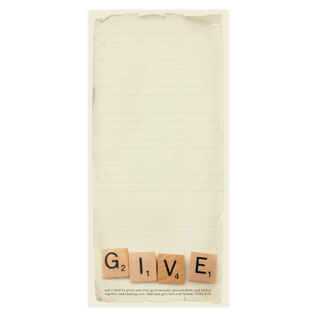 Give Magnetic Memo Pad 935
