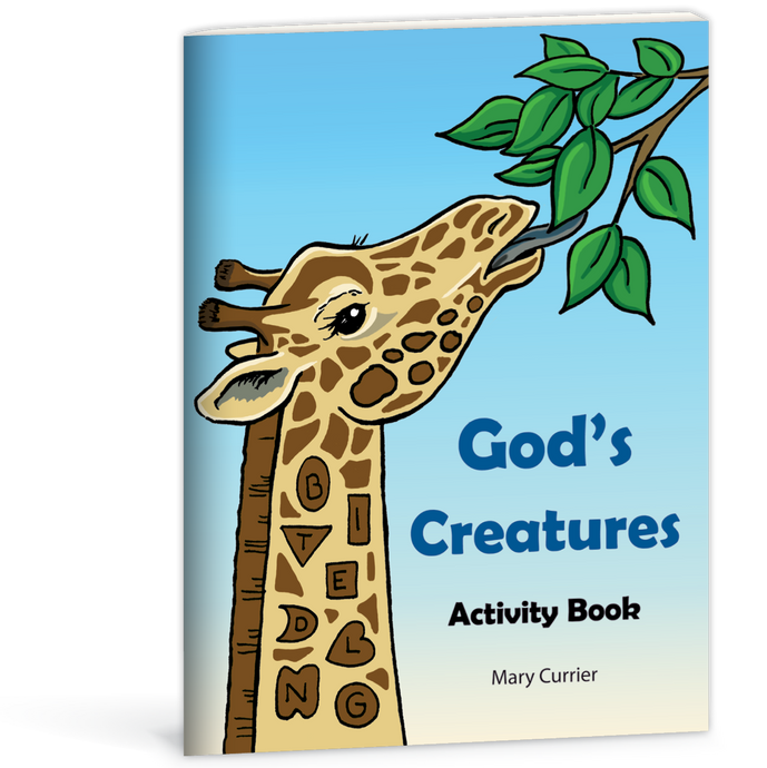God's Creatures Activity Book by Mary Currier 9780878132584