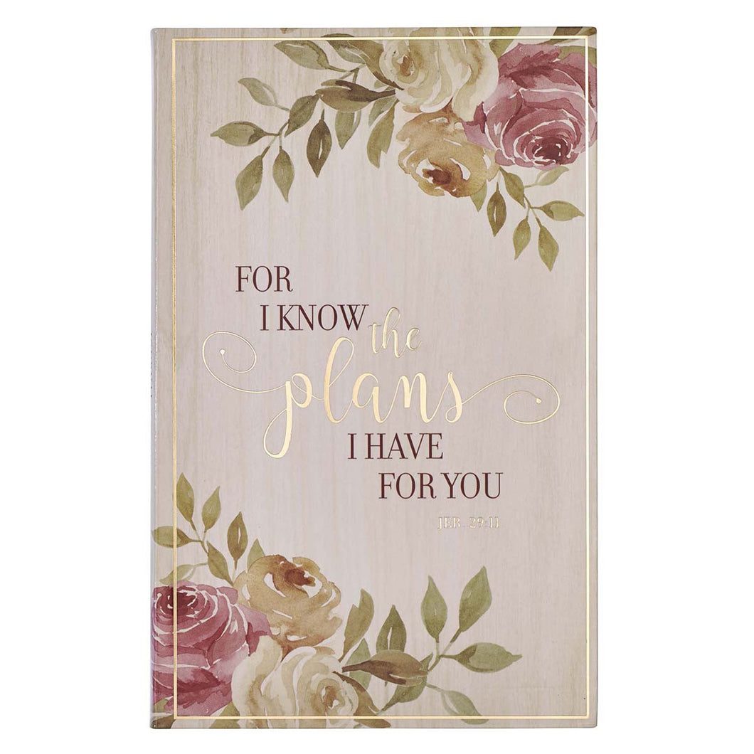 For I Know the Plans Flexcover Journal JL478