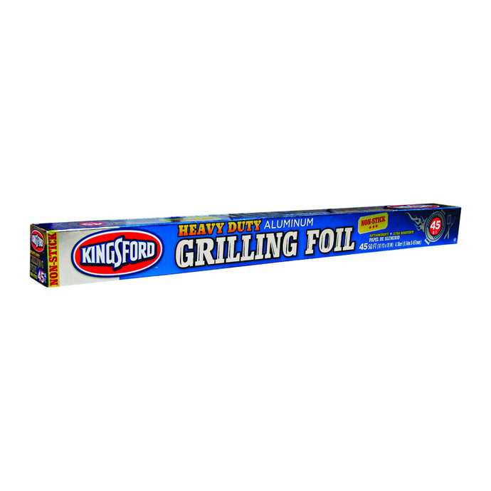 Package of Kingsford aluminum foil for grilling