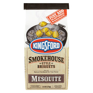 bag of mesquite smokehouse style briquets