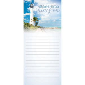 Lighthouse Magnetic Notepad 63072