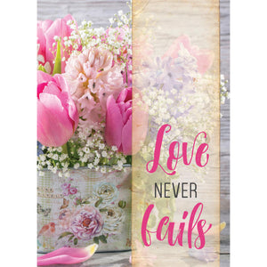 Love Never Fails Note Cards 5065
