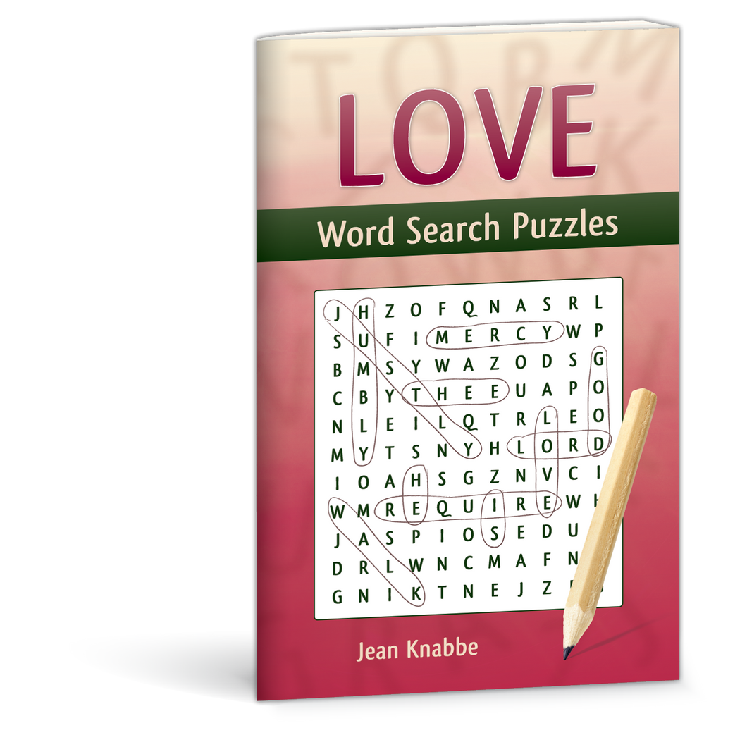 Love Word Search Puzzles by Jean Knabbe 9780878137534