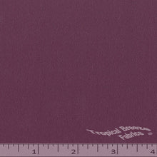 Plum crepe fabric