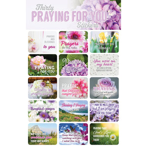 30 Praying for You Stickers 63133