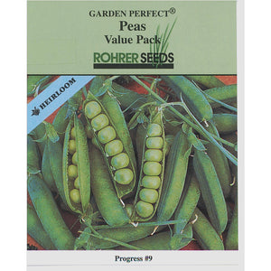 Rohrer Seeds Progress #9 peas.