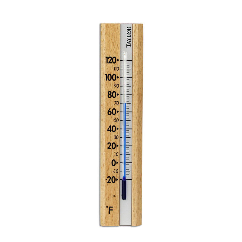 Indoor Wood Wall Thermometer 5141