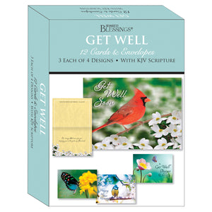 Boxed Cards Get Well Assortment SBEG22285