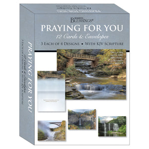 Praying for You Waterfalls Boxed Cards SBEG22364
