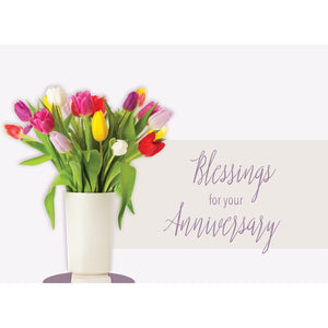 Floral Celebration Anniversary Boxed Cards SBEG22352