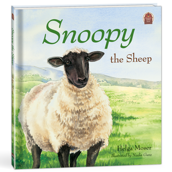 Snoopy the Sheep Children's Book by Helga Moser 264642