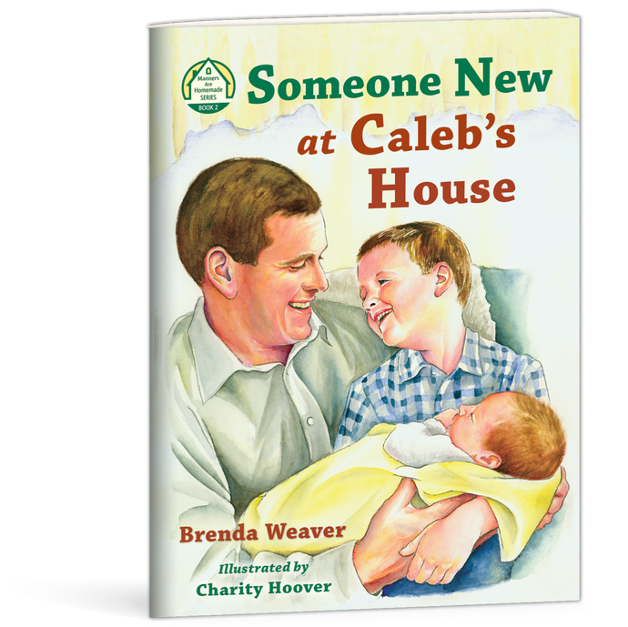 Someone New at Caleb's House book by Brenda Weaver 9780878137411