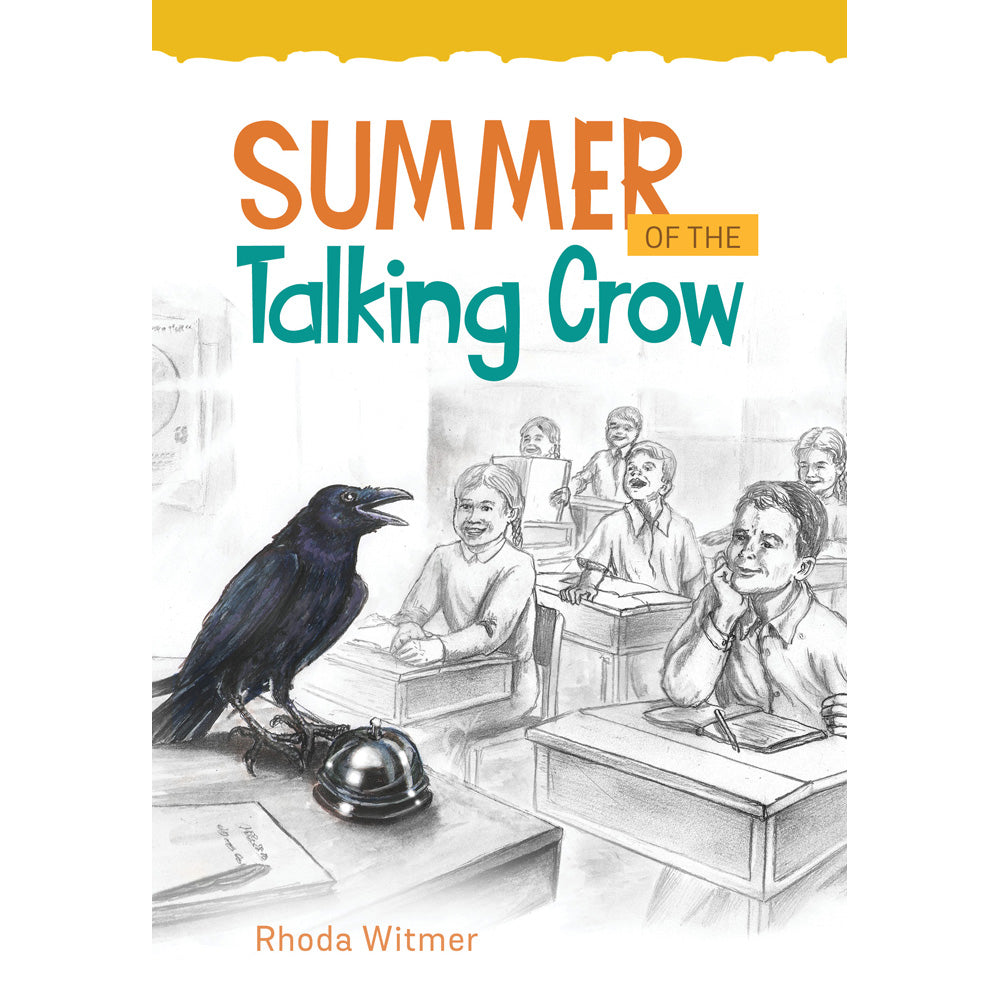 TGS Books Summer Of The Talking Crow Book By Rhoda Witmer