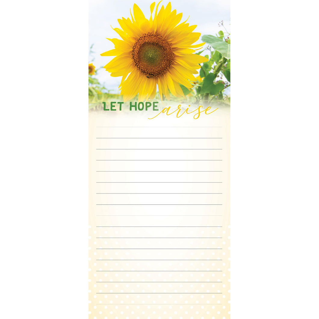 Sunflower Magnetic Notepad 97928