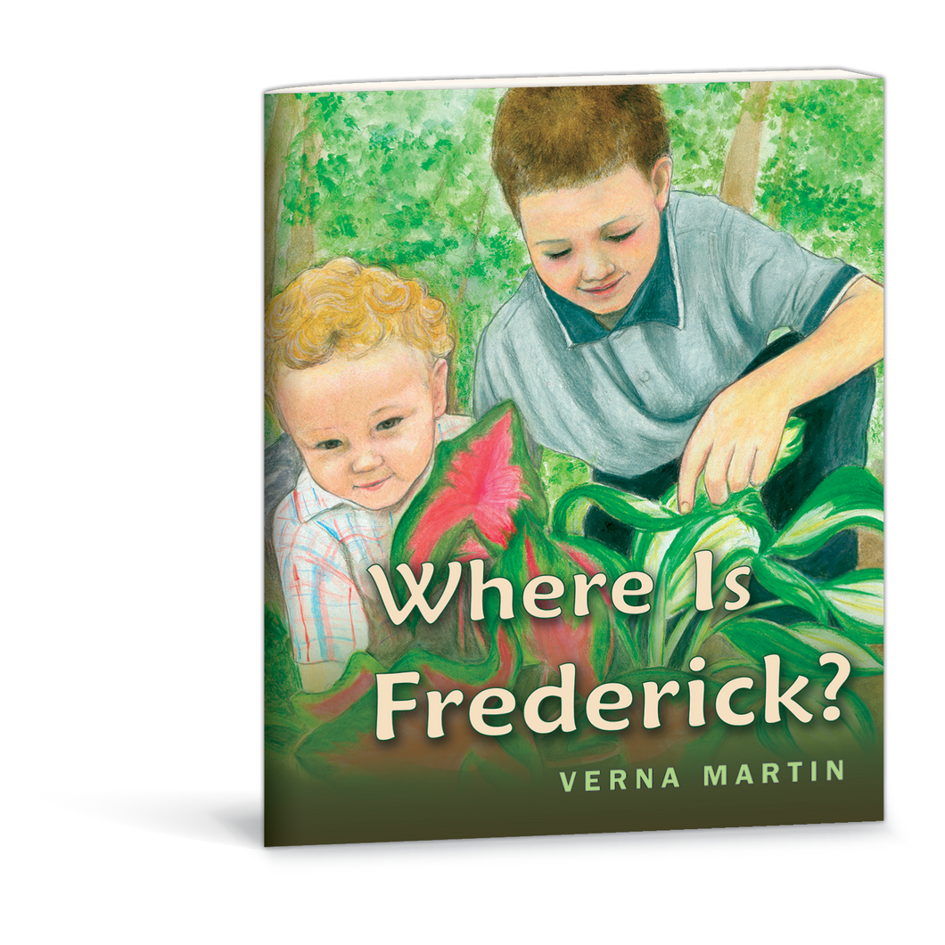 Where is Frederick? book by Verna Martin 978087813656