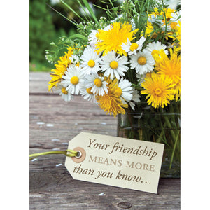 Yellow Bouquet Note Cards 4055