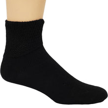 Dr. Allay Diabetic Quarter Sock Black