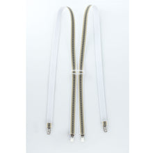 Shenandoah Broad Stripe Tan Suspenders