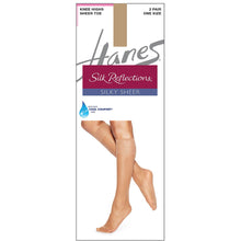 Hanes Knee Highs Nylons Little Color.