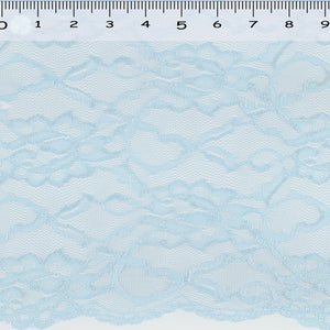 Light Blue lace fabric.