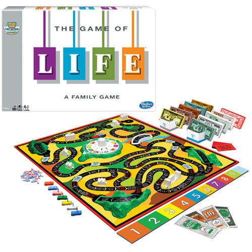 Hasbro Winning Moves Games The Game of Life 1140