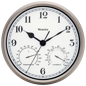 Westclox Indoor-Outdoor Wall Clock