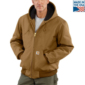Brown Carhartt coat
