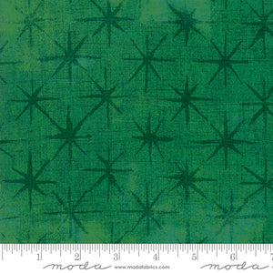 Kelly Green Seeing Stars Moda quilt fabric