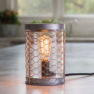 Airome Chicken Wire Edison Bulb Wax Warmer EBCHW