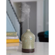 Diffuser for aromatherapy oils.
