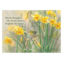 Greeting cards with daffodils.