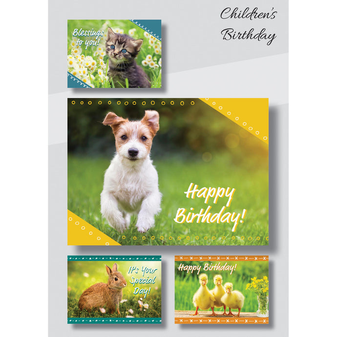 Boxed Birthday cards for children