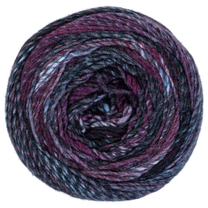 Autograph purple and blue yarn