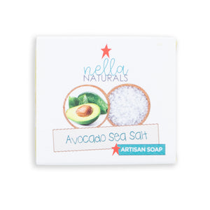 Avocado bar soap in wrapper
