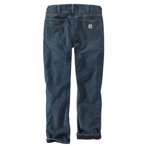 Carhartt Men's Lined Jeans, back.