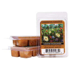 Country Wildflowers  Candle Wax Melts