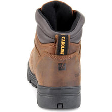 Carolina Waterproof work boot, back view.