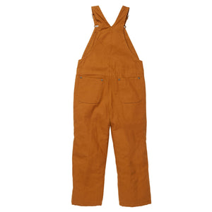 Back of lined bib overalls for boys.