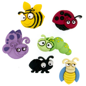 Dress it Up Buttons Bug Eyed 6551
