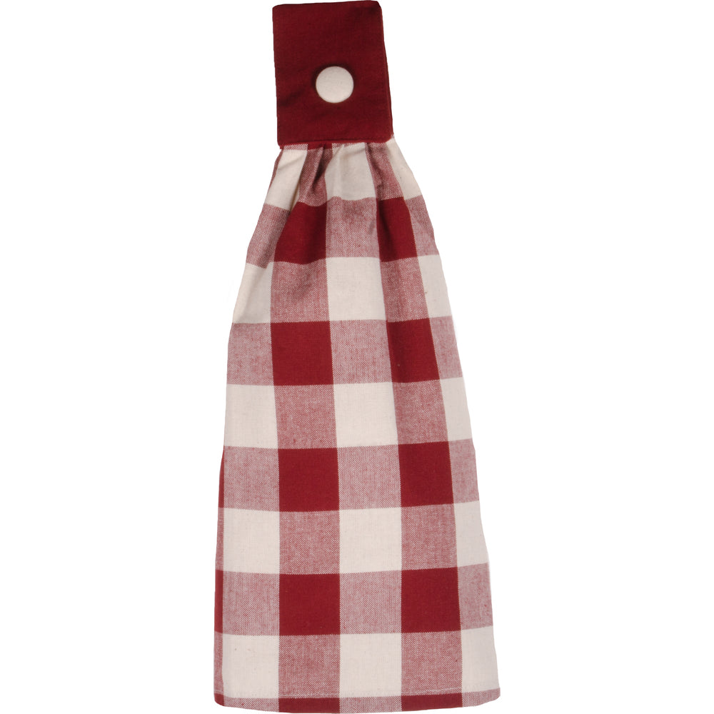 Red & White Tea Towel