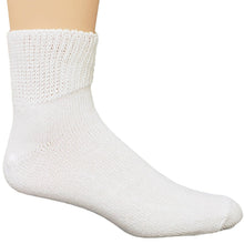 Dr. Allay Diabetic Quarter Sock White