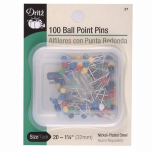Plastic Colored Ball Head Pins S-27