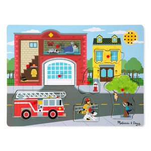 Melissa & Doug station sound puzzle