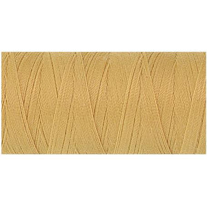 Cornsilk yellow thread.