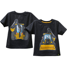 Coming and going tractor tee