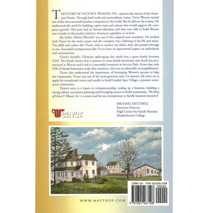 Back cover of book